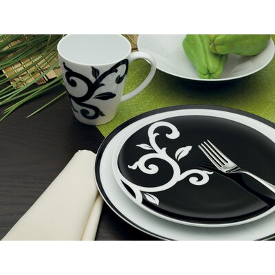 Noritake Kismet Black Dinnerware Collection