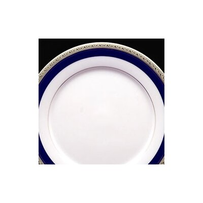 Noritake Crestwood Cobalt Platinum 10.5&quot; Dinner Plate