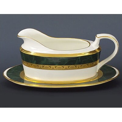 Noritake Fitzgerald 16 oz. Gravy Dish with Tray