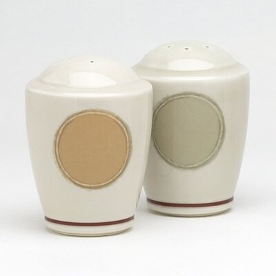 "Noritake Java 3.5"" Salt & Pepper Set"
