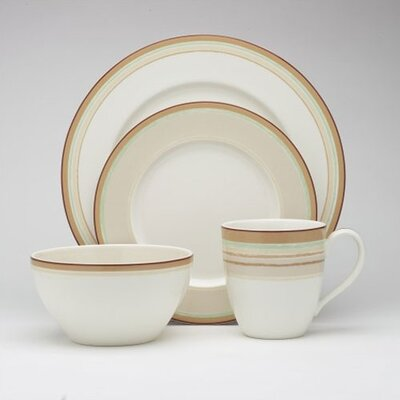 Noritake Java Swirl 4 Piece Place Setting
