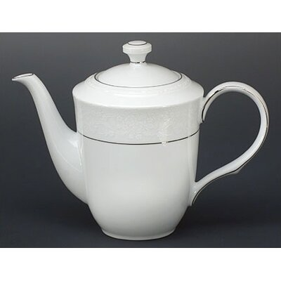 Noritake Whitecliff Platinum 47 oz Coffee / Tea Server