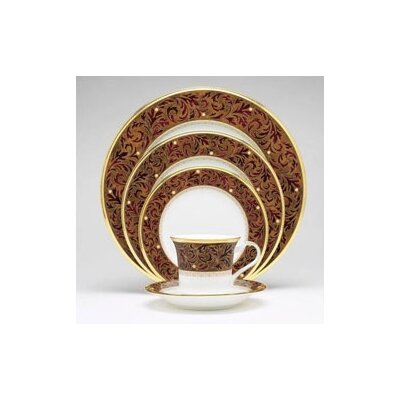Xavier Gold 20 Piece Dinnerware Set