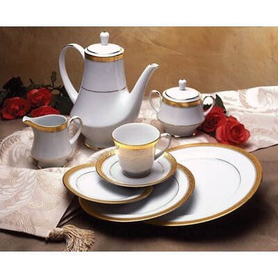 Crestwood Gold Dinnerware Set