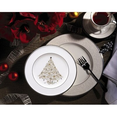 Noritake Palace Christmas Platinum Dinnerware Collection