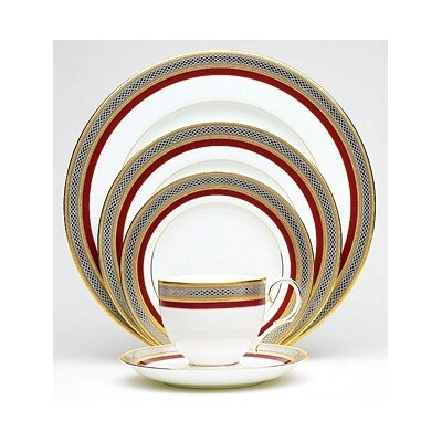 Noritake Ruby Coronet 20 Piece Dinnerware Set