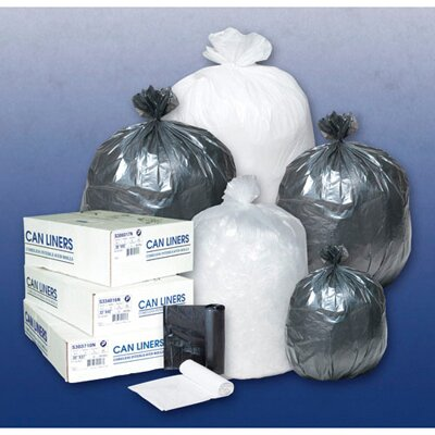 Inteplast Group 4 Gallon High Density Can Liner in Clear