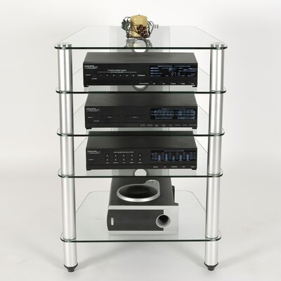 RTA Home And Office AVM 5 Shelf Audio Rack
