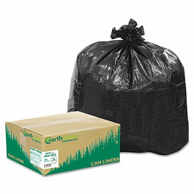 EarthSense® Commercial Extra Heavy Grade Recycled Can Liners (Pack of 100)