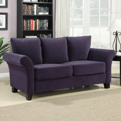 Handy Living Milan Velvet Sofa