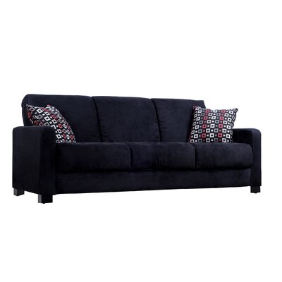 Convert a Couch Full Sleeper Sofa with Geo Square Pillows