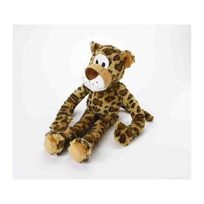 MultiPet Swingin Safari Leopard Plush Toy