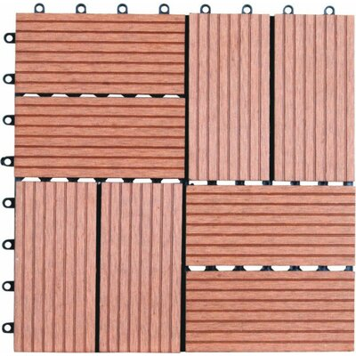 "Naturesort Bamboo Composite 12"" x 12"" Deck Tiles"