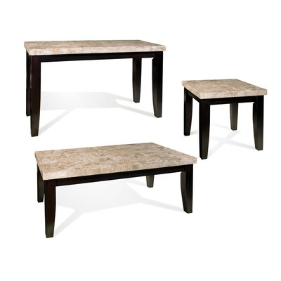 Steve Silver Furniture Monarch Coffee Table Set