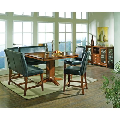 Steve Silver Furniture Plato Counter Height Dining Table