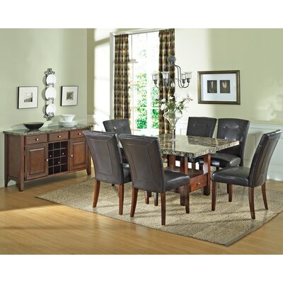Steve Silver Furniture Montibello 7 Piece Dining Set