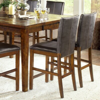 Davenport Counter Height Dining Chair in Tobacco