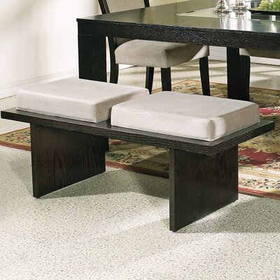 Steve Silver Furniture Movado Velvet Kitchen Bench