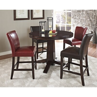 Steve Silver Furniture Hartford 5 Piece Counter Height Dining Set