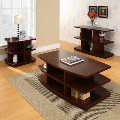 Steve Silver Furniture Citadel Coffee Table Set