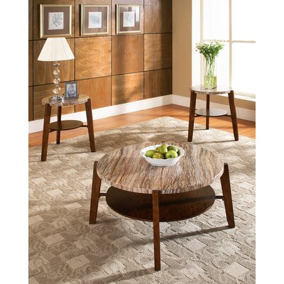 Steve Silver Furniture Tivoli 3 Piece Coffee Table Set