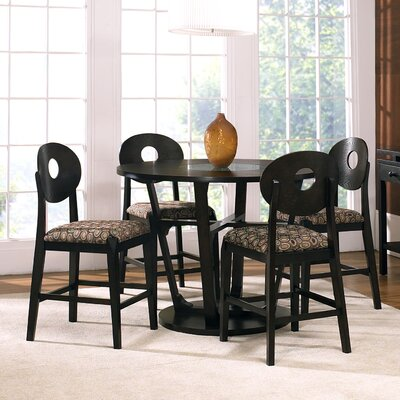 Steve Silver Furniture Optima 5 Piece Counter Height Dining Set
