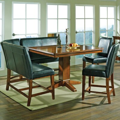 Steve Silver Furniture Plato 6 Piece Counter Height Dining Set