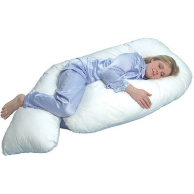LeachCo All NighterTotal Body Pillow in Ivory