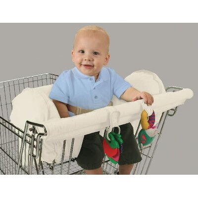 LeachCo Organic Smart Prop R Shopper - Body Fit Shopping Cart Cover