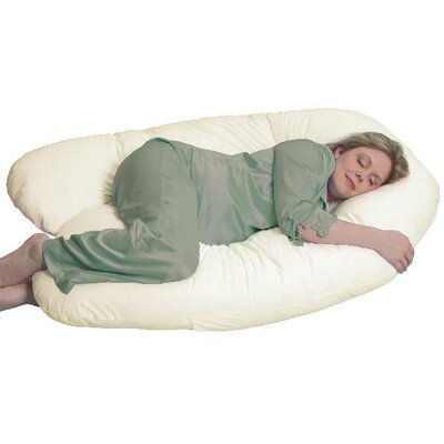 LeachCo Organic Smart Back N Belly - Contoured Body Pillow