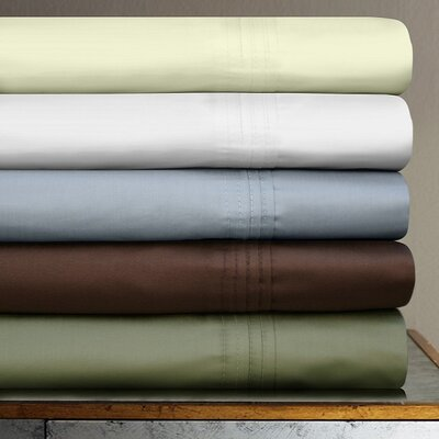 Tribeca Living 600 Thread Count 4-Piece Egyptian Cotton Sateen