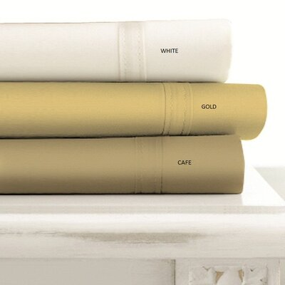Tribeca Living 500 Thread Count 4-Piece Egyptian Cotton Sheet Set