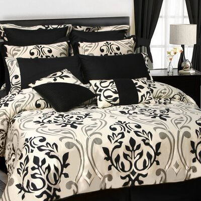 Tribeca Living Prague 24 Piece Room in a Bag Comforter Set