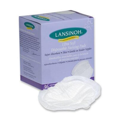 Lansinoh Ultra Soft Disposable Nursing Pad