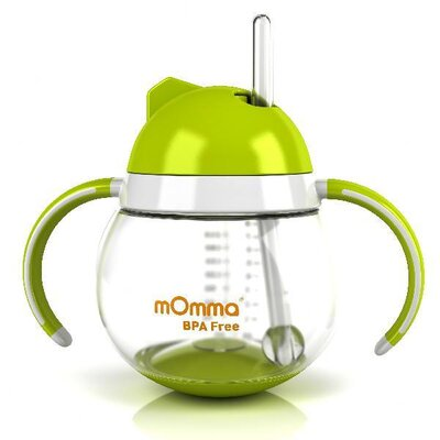 Lansinoh Momma Straw Cup with Dual Handles