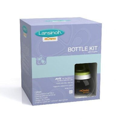 Lansinoh Infant Bottle Kit with Nipple