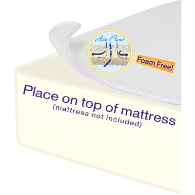 "DexBaby Breathe Free Miracle Mat 3"" Mattress Pad"