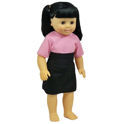 Get Ready Kids Asian Girl Doll