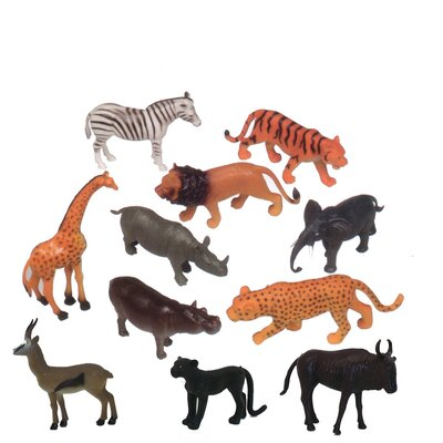Zoo Animal Play Set (Set of 11)