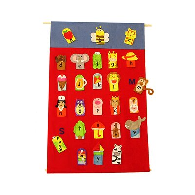 Get Ready Kids Alphabet Finger Puppets & Wall
