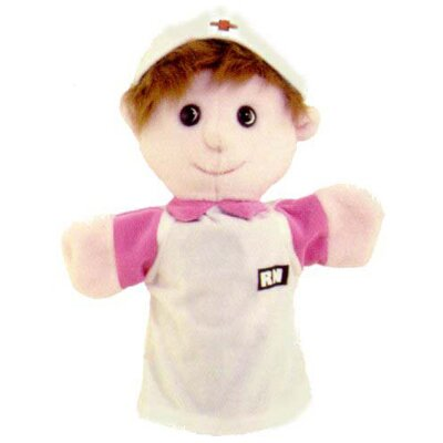 Get Ready Kids Puppets Machine Washable Nurse
