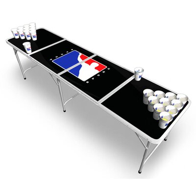 BPONG Official Beer Pong Table in Black