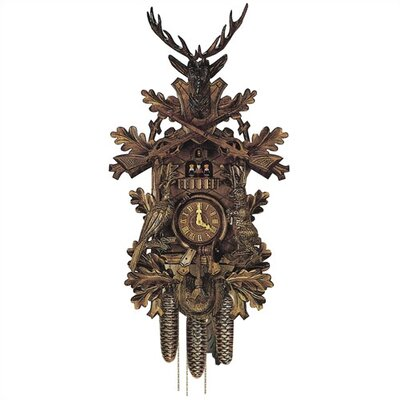 Traditional 8 Day Movement Cuckoo Wall Clock