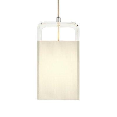 Pablo Designs Tube Top 1 Light Pendant