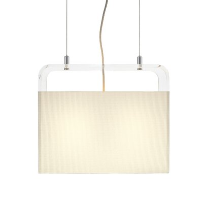 Pablo Designs Tube Top 2 Light Pendant