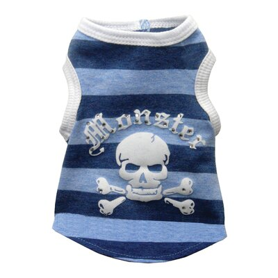 Monster Stripe Dog Tank