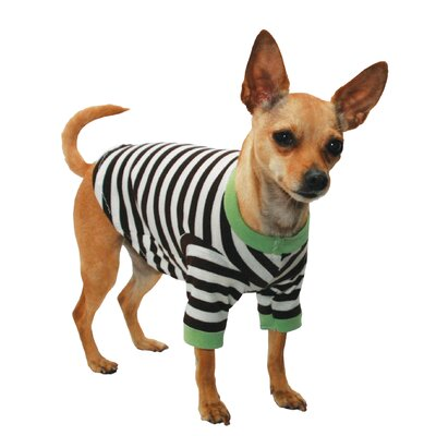 Crown Stripe Dog Tee