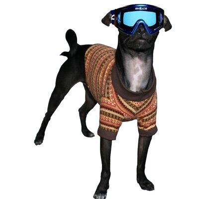 Big Dog Ski Dog Turtleneck in Gold