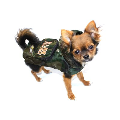 Hip Doggie Major Trouble Rain Slicker Dog Raincoat