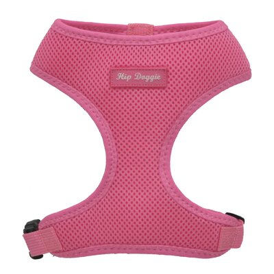 Hip Doggie Ultra Comfort Mesh Dog Harness Vest in Pink